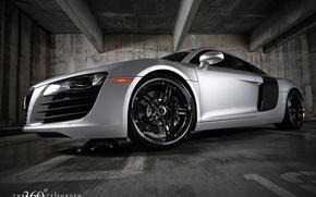 Picture sports, Audi R8, silver