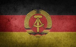 Picture Germany, Flag, Germany, Flag, GDR, The German democratic Republic