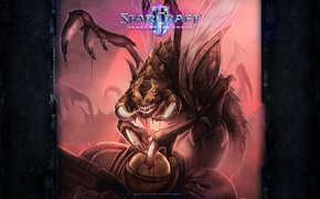 Picture StarCraft 2, Zerg, Heart of the Swarm, Zergling
