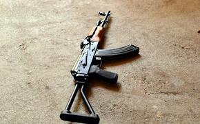 Picture background, machine, Kalashnikov, Kalash, The AKS-74