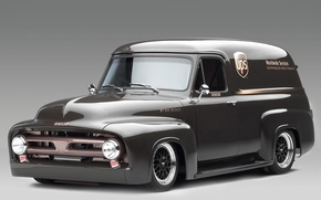 Picture Classic, Car, Panel Truck, Ford FR100