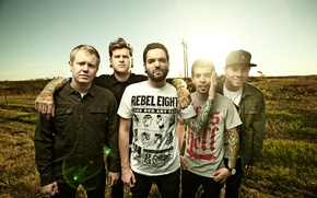 Picture group, a day to remember, post-hardcore