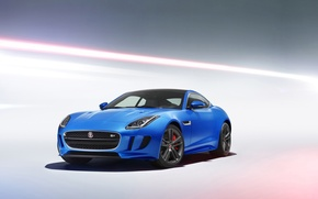 Picture Jaguar, Blue, 2016, Metallic, F-Type British Design Edition