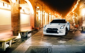 Picture GTR, Japan, Nissan, Car, White, R35, Sport, CR Creation
