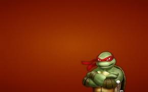 Picture minimalism, Teenage mutant ninja turtles, Raphael, Teenage Mutant Ninja Turtles, mutant ninja turtles