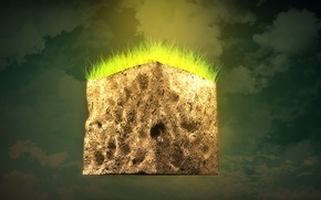 Picture wallpaper, game, block, Minecraft
