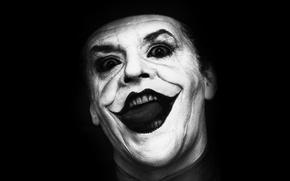 Picture background, Joker, black