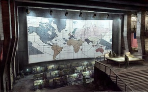 Wallpaper strategists, America, map