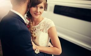 Picture smile, the bride, wedding, the groom, Ivan Gorokhov