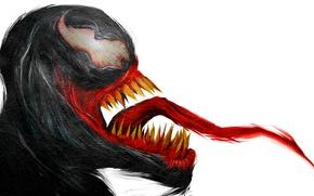 Wallpaper language, Venom, Eddie Brock, symbiote