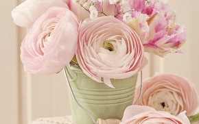 Picture roses, vintage, flower, style, pink, vintage, bouquet, roses