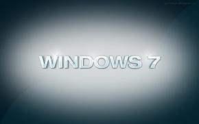 Picture the inscription, Windows 7, art, Hi-Tech