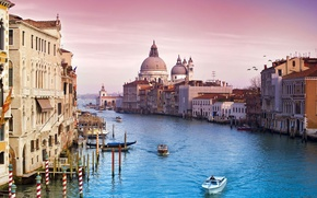 Picture the sky, Venice, venice, the city, italy, Italy, channel, water, building