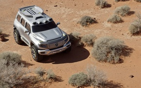 Picture Sand, Desert, The concept, Mercedes Benz, SUV, Force, Mercedes, Ener-g