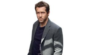 Picture actor, white background, Ryan Reynolds, Ryan Reynolds, jacket, journal, photoshoot, Details, Mark Seliger