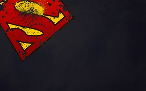 Wallpaper logo, symbol, superman, Superman, superhero