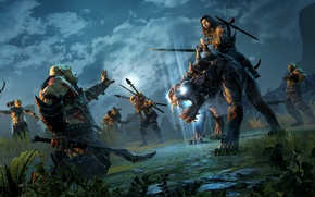 Picture Warrior, Beast, Video Game, Orcs, Warner Bros. Interactive Entertainment, Monolith Productions, Middle-earth: Shadow of Mordor, …