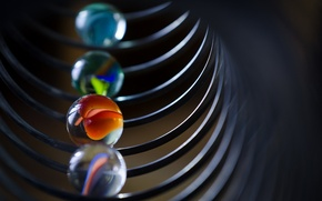 Wallpaper balls, macro, background