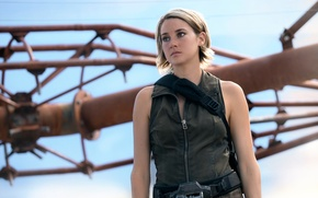 Picture Shailene Woodley, Divergent, Shailene Woodley, The Divergent Series:Allegiant, Behind the wall