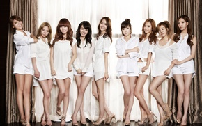 Wallpaper music, girls, Asian girls, SNSD, Girls Generation, South Korea, Kpop