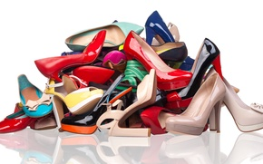 Picture sandals, heels, footwear styles