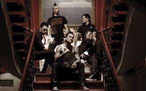 Picture pop-metal, dead by april, jimmie strimell