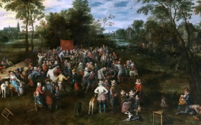 Picture people, picture, wedding, Jan Brueghel, Wedding Reception Gifts