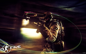 Picture GO FIVE, Counter-Strike Global Offensive, CSGO