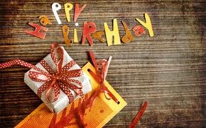 Wallpaper vintage, postcard, gift, congratulations, Birthday, Happy Birthday, vintage