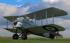Picture fighter, British, single, Sopwith, The first world war, times, Snipe, 7F.1