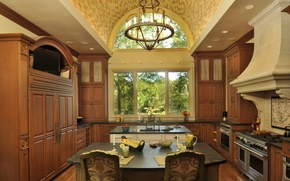 Picture design, house, style, room, Villa, interior, kitchen