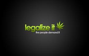Picture leaf, Legalize it, cannabis