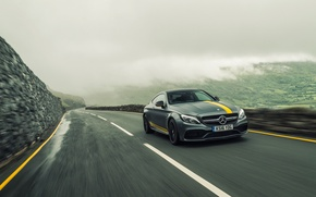 Wallpaper Mercedes-Benz, Coupe, C-Class, Mercedes, AMG, C205