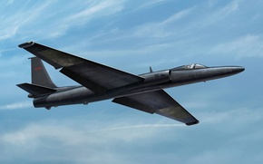 Picture the plane, art, American, BBC, scout, Lockheed, strategic, name, tall, USA., U-2, modification, informal, Lockheed, ...