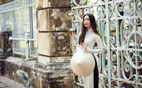 Picture girl, style, street, Asian