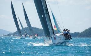 Picture sport, yachts, sails, regatta, Hamilton Island, Race Week, Xp 38 - Xpress