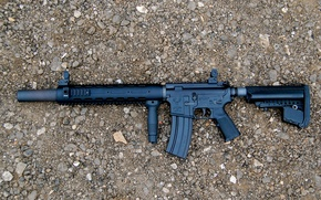 Picture weapons, machine, assault rifle, STAG-15
