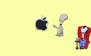 Picture Apple, Mac, Roger, American Dad