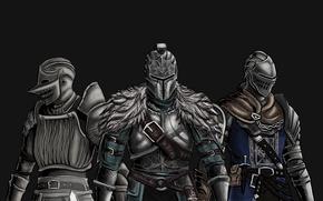 Picture Dark souls, Demon souls, Dark souls II, Elite Knight Armor, Faraam armor, Fluted Armor