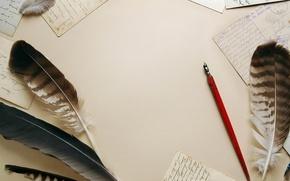 Picture pen old pen, paper, pens