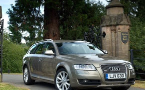 Wallpaper audi, allroad, machine