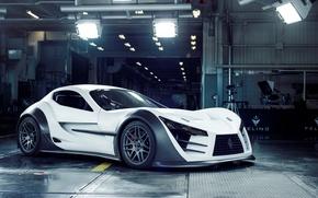 Picture white, supercar, felino cb7
