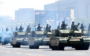 Picture China, soldiers, military, war, tanks, type99a