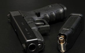Picture weapons, macro, Glock 21, gun