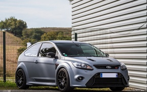 Picture ford, focus, gray