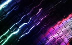 Wallpaper color, glare, line