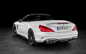 Picture white, Mercedes-Benz, convertible, Mercedes, AMG, AMG, R231, SL-Class