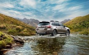 Picture landscape, river, universal, 2015, Subaru Outback