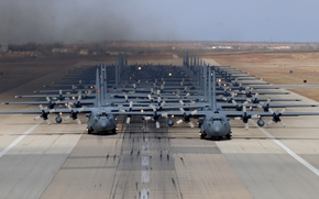 Picture aircraft, Hercules, C-130H, military transport