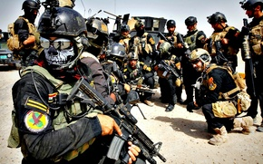 Picture weapons, army, soldiers, East, Iraq, speznaz, middle East, the Arabs, Iraqi Special Operations Forces